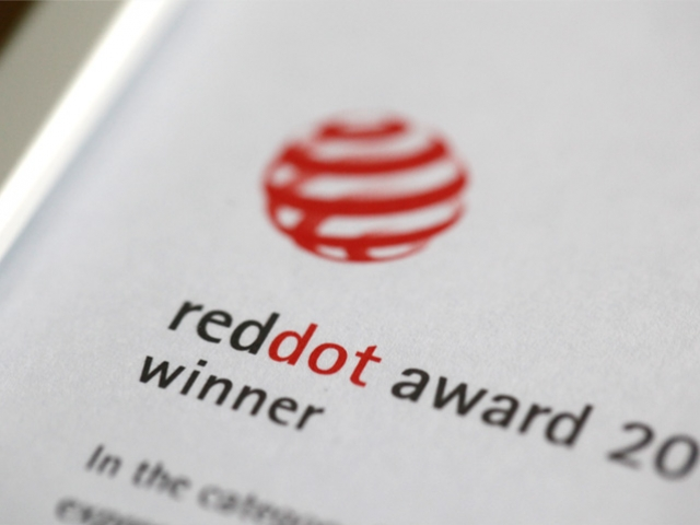 banner red dot award