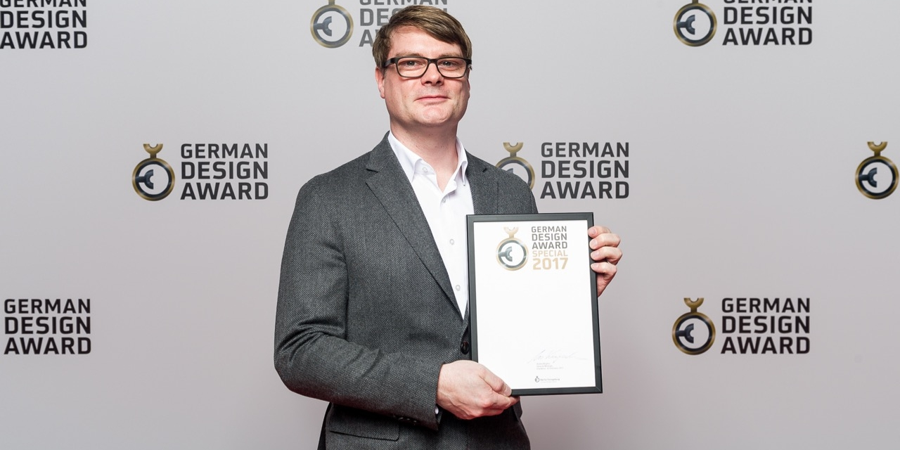 german design award 2017 winner