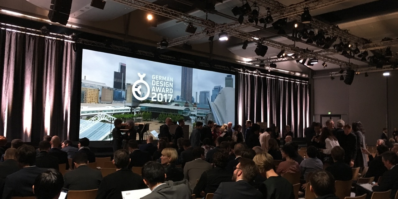 german design award 2017 impressions