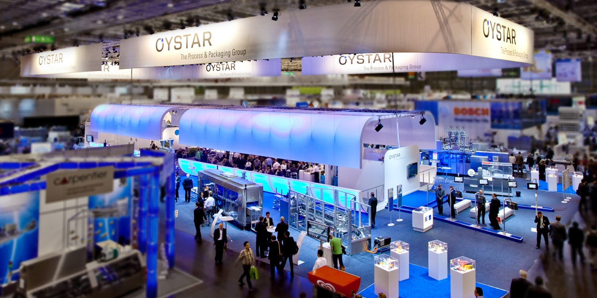 Oystar Booth Interpack 2011